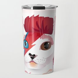 a cat insane Travel Mug