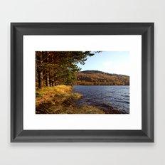 Autumn Peace Framed Art Print