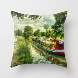 Tivertonian at Manley Bridge Throw Pillow