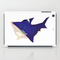 kevin russ iPad Cases featuring Anxious Kevin by Shay Ho