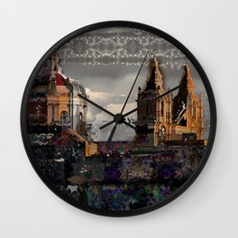 mdina by day Wall Clock