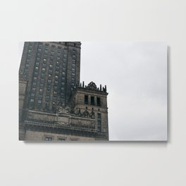 Pałac Kultury i Nauki II Metal Print