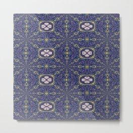 Vibrational Pattern 8 Metal Print