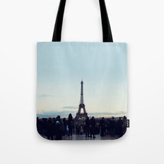 Eiffel by Evening Tote Bag