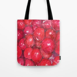A basketful of plums Tote Bag