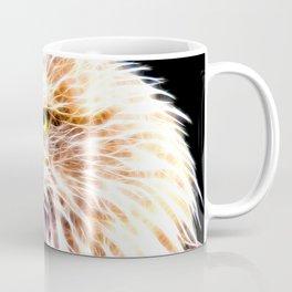 bald eagle 03 neon lines stardust Coffee Mug