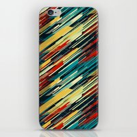 sweater iPhone & iPod Skins featuring 80's Sweater by Jacqueline Maldonado