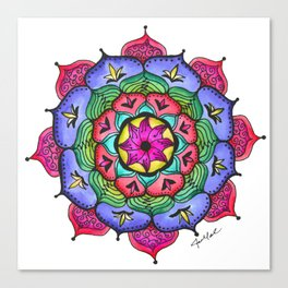 Mandala #6 - Original Canvas Print