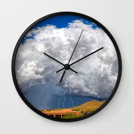 The Day Catching Up Wall Clock