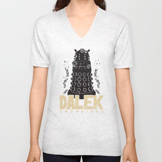 Dalek Unchained Unisex V-Neck