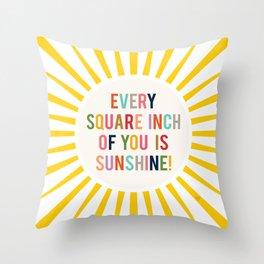 Sunshine Throw Pillow