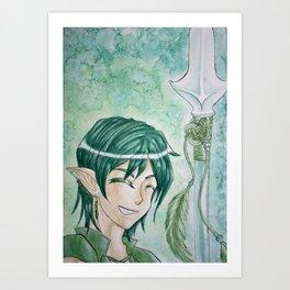 Lancer Art Print