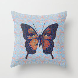 Butterfly Variation 06 Throw Pillow