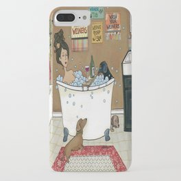 Wieners in the Tub iPhone Case