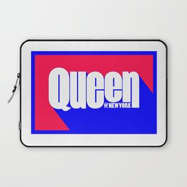 Queen of New York (Blue & Red) Laptop Sleeve
