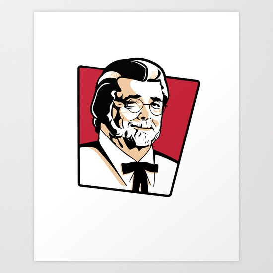 Colonel George Art Print