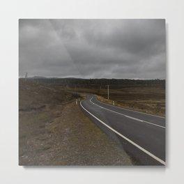 the road Metal Print
