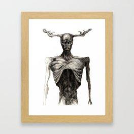 Wendigo Framed Art Print