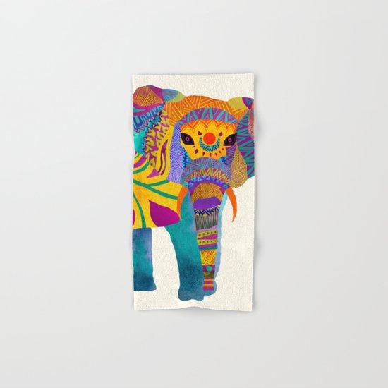 Whimsical Elephant Hand & Bath Towel