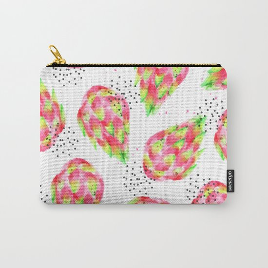 Dragon Fruit #society6 #decor #pattern Carry-All Pouch