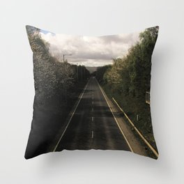 Counting Miles Throw Pillow