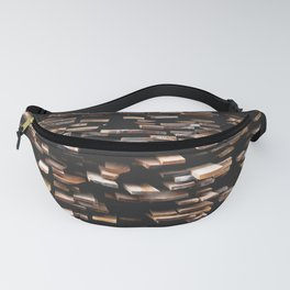 wooden board pattern texture Fanny Pack
