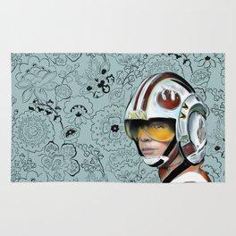 Luke Skywalker from Starwars Rug