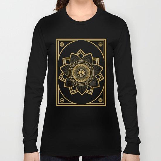 Peace Lotus Long Sleeve T-shirt