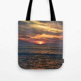 Rehoboth Beach sunrise Tote Bag