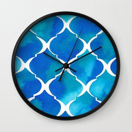 SEA TILES Wall Clock