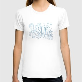 20,000 Leagues Under the Sea - Jules Verne | Quote 1 T-shirt