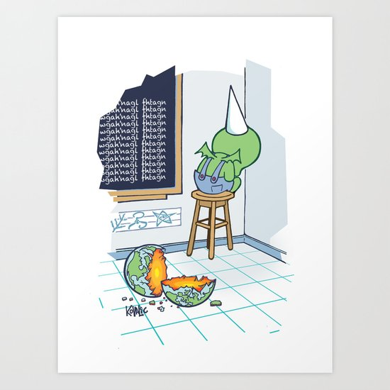 Shallow Ones 2 Art Print