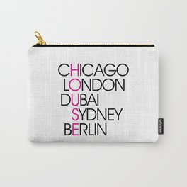 Worldwide House EDM Quote Carry-All Pouch