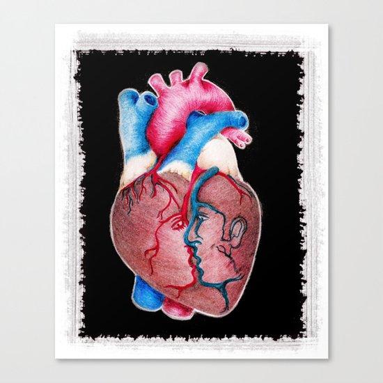 1 HEART 4 2 Canvas Print