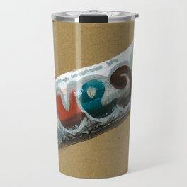 Vego vegan Chocolate is a thing I use to define myself Travel Mug