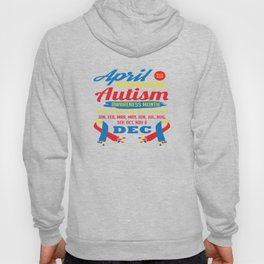 Autism Awareness Day Support Asperger Child Gift Hoody
