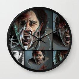 Cluster Headache Collage Wall Clock