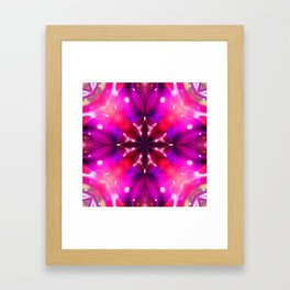 Into the Light Fantastic Framed Art Print