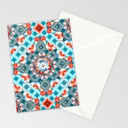 Decorative Lovebirds Stationery Cards