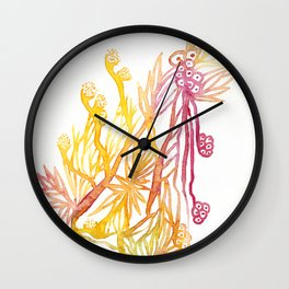 Winding Roots Wall Clock