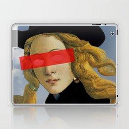Das Mädchen mit dem Hut Laptop & iPad Skin