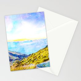 Mombarone Panorma Stationery Cards