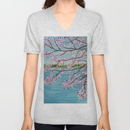 Spring is in the Air... So is Pollen Unisex V-Neck