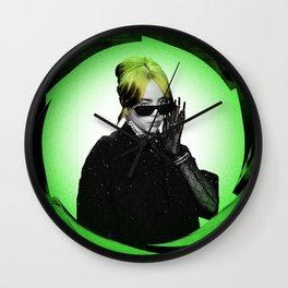 billie green 2020 muncrat Wall Clock