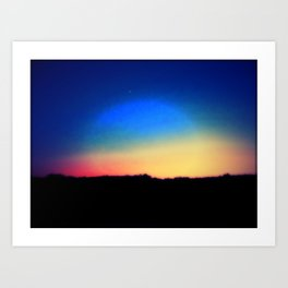 Color Me Rainbow Art Print
