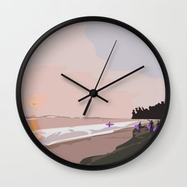 Kabalana Beach, Ahangama, Sri Lanka Wall Clock