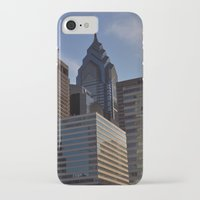 philadelphia iPhone & iPod Cases featuring Philadelphia by Jérémy Boes