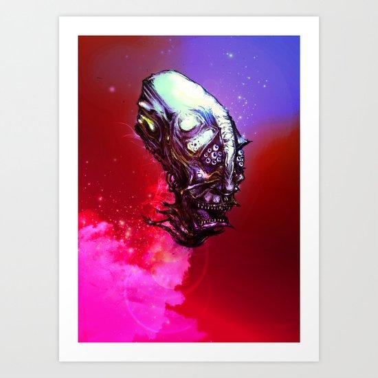 Blast Off! Art Print