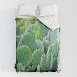 Prickly Pear Cactus Comforters