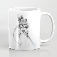 The Perseverance of a Puppy :: Siberian Husky Mug